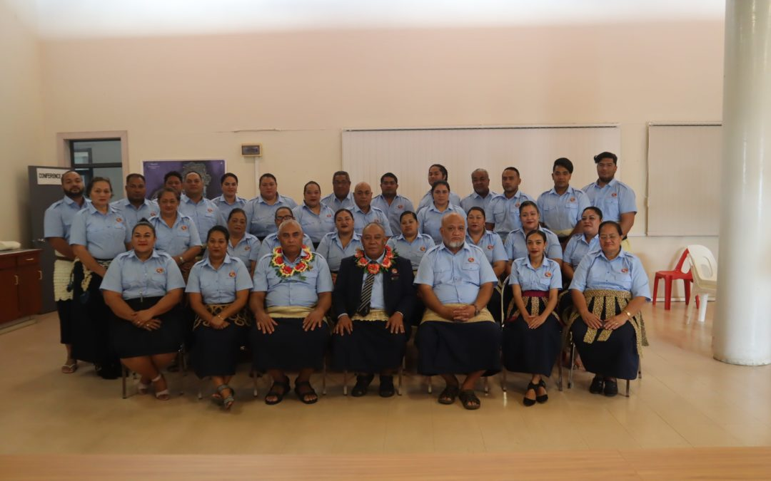 Ministerial Meeting with the Hon. Tevita Lavemaau
